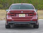 2021 bmw m550i xdrive rear