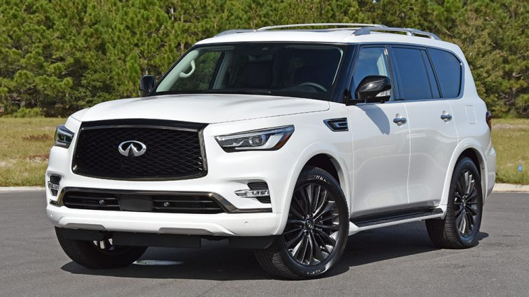 2021 Infiniti QX80 Premium Select AWD Review & Test Drive