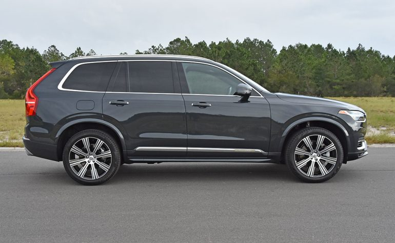 2021 volvo xc90 recharge t8 side