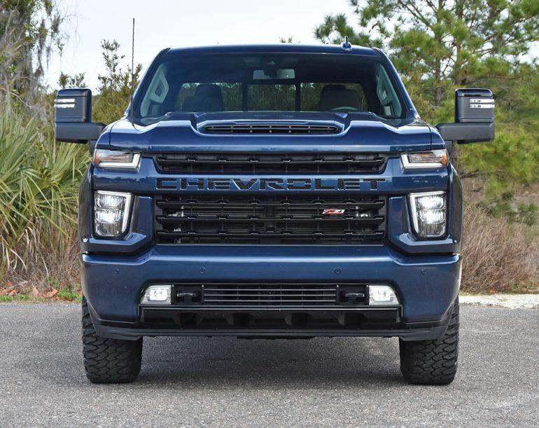 2021 chevrolet silverado 2500HD diesel front