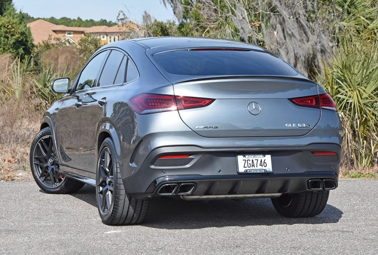 2021 mercedes-amg gle 63s coupe rear