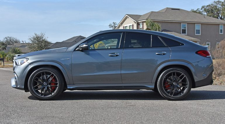 2021 mercedes-amg gle 63s coupe side
