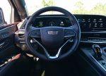 2021 cadillac escalade sport platinum steering wheel