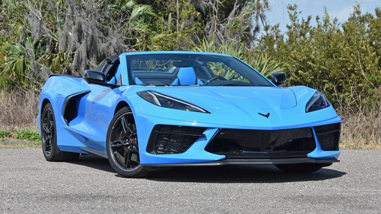 2020 Chevrolet Corvette C8 Stingray Convertible 3LT Review & Test Drive