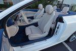 2021 mercedes-benz e450 cabriolet front seats
