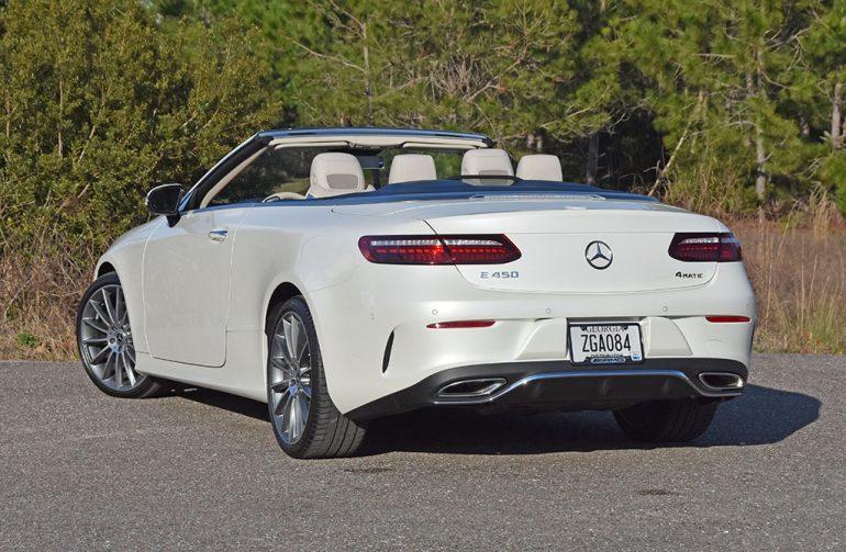 2021 mercedes-benz e450 cabriolet back