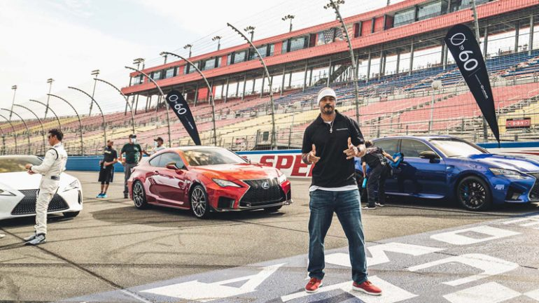 "Lexus ""0 to 60"" Celebrity Racing Series: Season 4 Torches Auto Club Speedway"