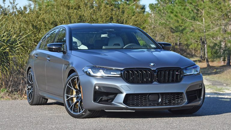 2021 BMW M5 Competition Review & Test Drive