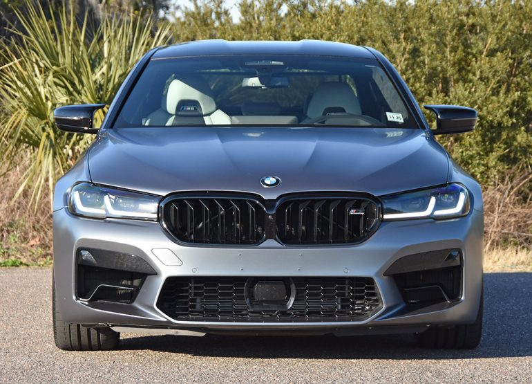 2021 bmw m5 competition front