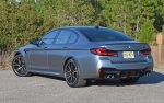 2021 bmw m5 competition back angle