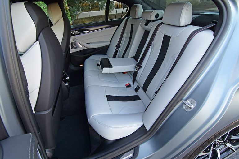 2021 bmw m5 competition back seats