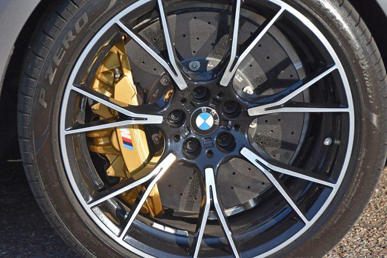 2021 bmw m5 competition carbon ceramic brakes