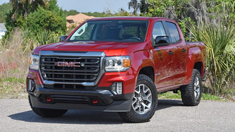 2021 GMC Canyon 4WD AT4 Review & Test Drive