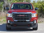2021 gmc canyon at4 front grille