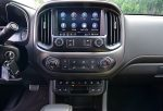 2021 gmc canyon at4 touch screen