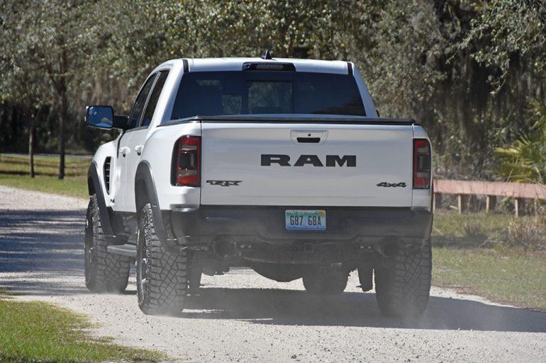 2021 ram 1500 trx back