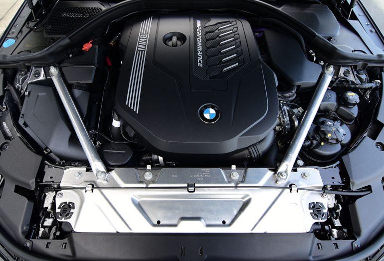 2021 bmw m440i xdrive engine