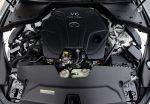 2021 infiniti q60 red sport 400 awd twin turbo engine