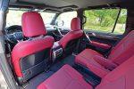 2021 lexus gx 460 rear cabin