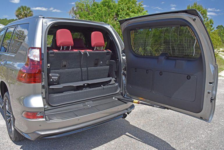 2021 lexus gx 460 rear cargo swing door