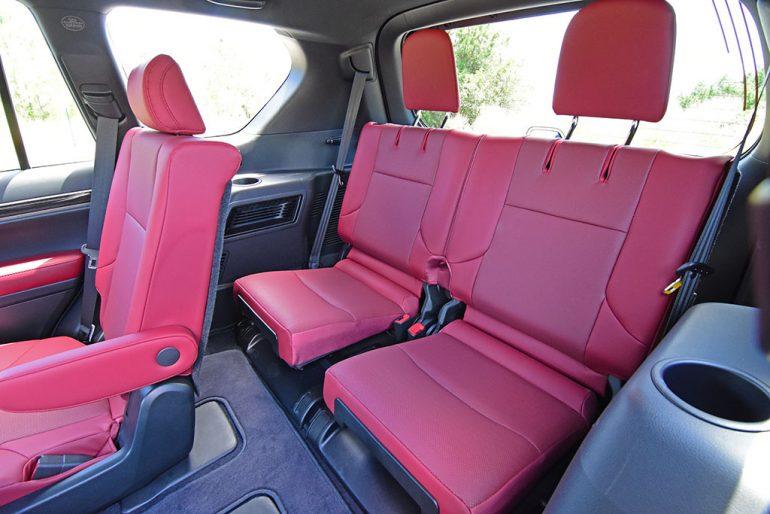 2021 lexus gx 460 3rd row seats