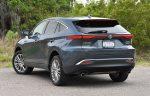 2021 toyota venza hybrid rear