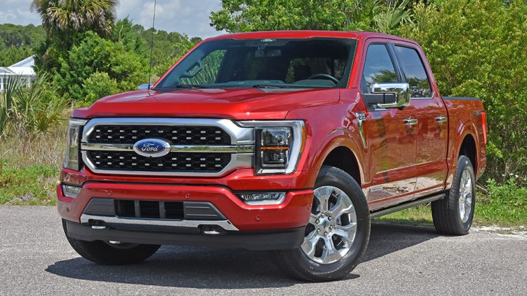2021 Ford F-150 PowerBoost Platinum Hybrid Supercrew 4×4 Review & Test Drive
