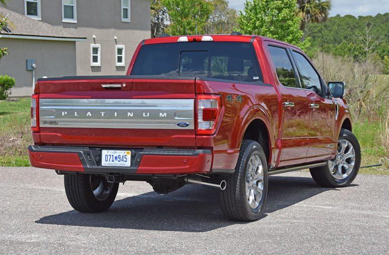 2021 ford f-150 powerboost rear