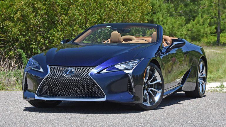 2021 Lexus LC 500 Convertible Review & Test Drive