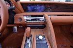2021 lexus lc 500 convertible center dash
