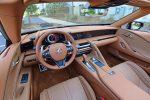 2021 lexus lc 500 convertible dashboard