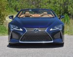 2021 lexus lc 500 convertible front