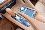2021 lexus lc 500 convertible touchpad