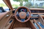 2021 lexus lc 500 convertible steering wheel