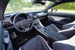 2021 lexus rc f interior dashboard