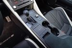 2021 lexus rc f shifter touchpad