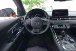 2021 toyota gr supra 3.0 premium steering wheel