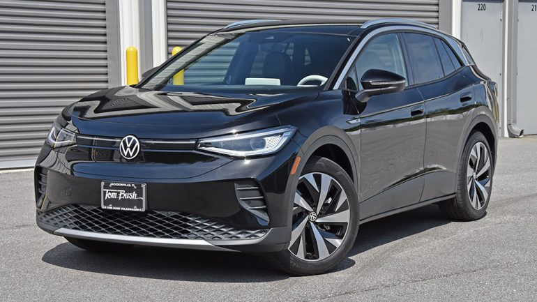 2021 Volkswagen ID.4 First Edition Quick Spin Review & Test Drive