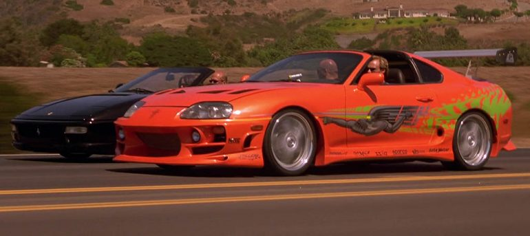 the fast and the furious toyota supra