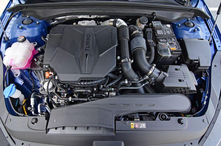 2021 kia k5 gt 2.5-liter turbo engine