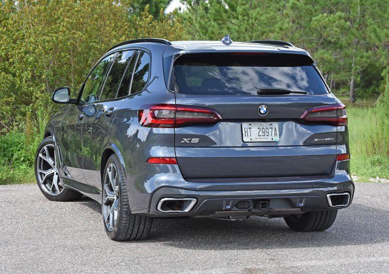 2021 bmw x5 xdrive45e plug-in hybrid rear