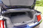 2021 ford mustang convertible ecoboost hpp trunk