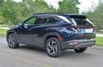 2022 hyundai tucson limited hybrid rear side
