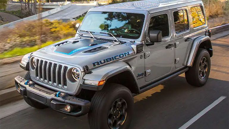Jeep Hikes The Wrangler 4xe Plug-In Hybrid