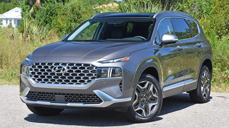 2021 Hyundai Santa Fe Hybrid Review & Test Drive