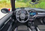 2022 mini john cooper works convertible steering wheel