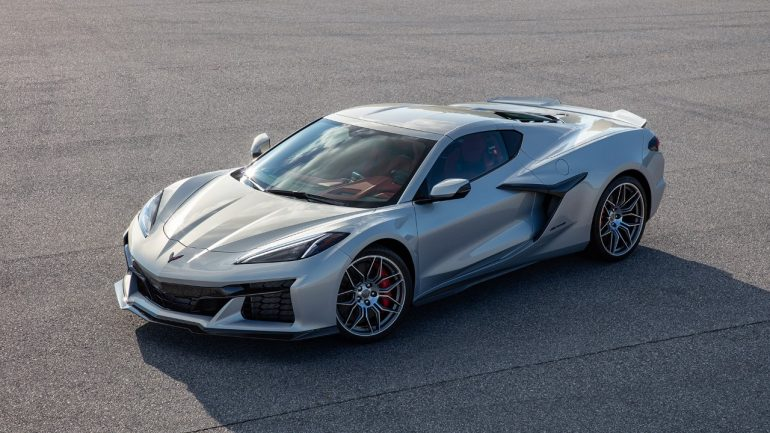 Chevrolet Gives a First Official Look at the 2023 Corvette Z06
