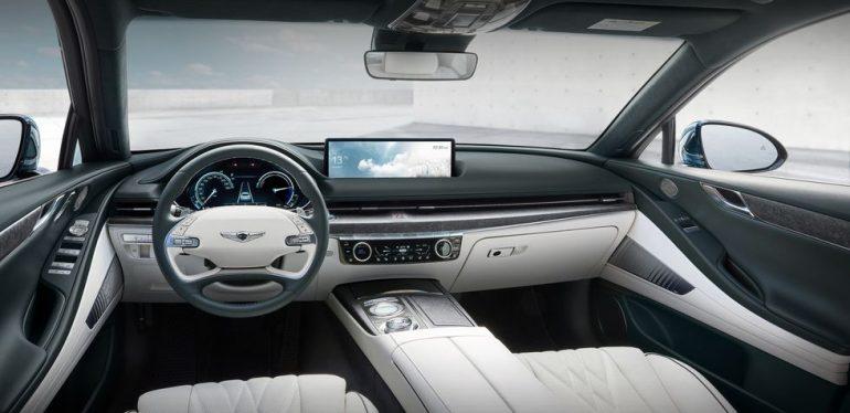 2023 Genesis G80 EV (Electrified G80) interior