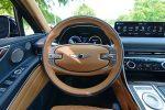 2021 genesis gv80 awd 3.5t prestige steering wheel