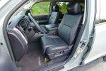 2021 toyota sequoia trd pro front seats